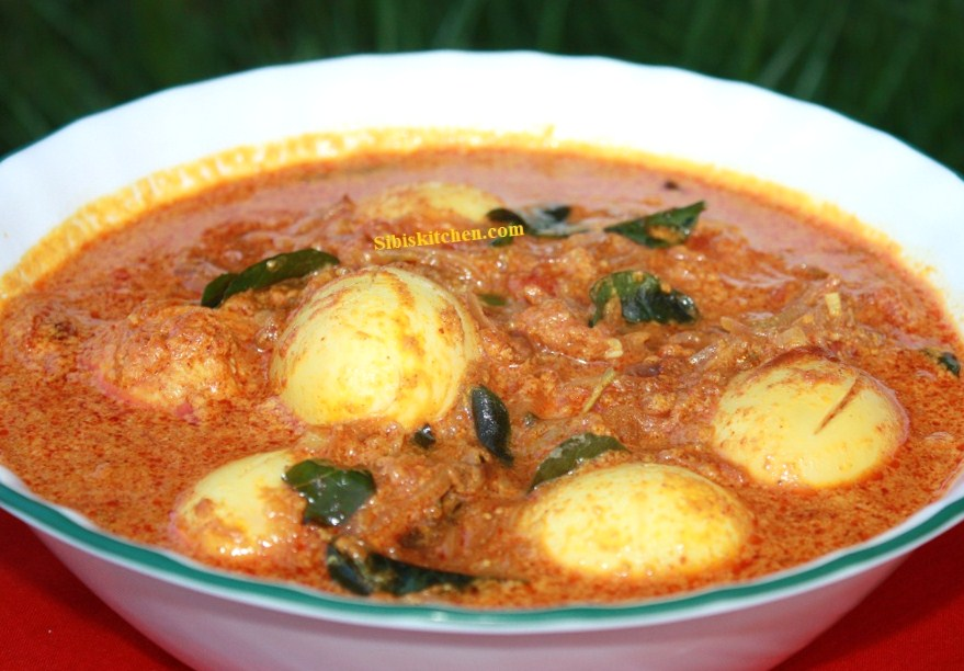 Naadan Muttta(Egg) curry