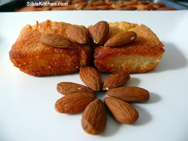 Semolina cake/ Harisseh/ Nammurah