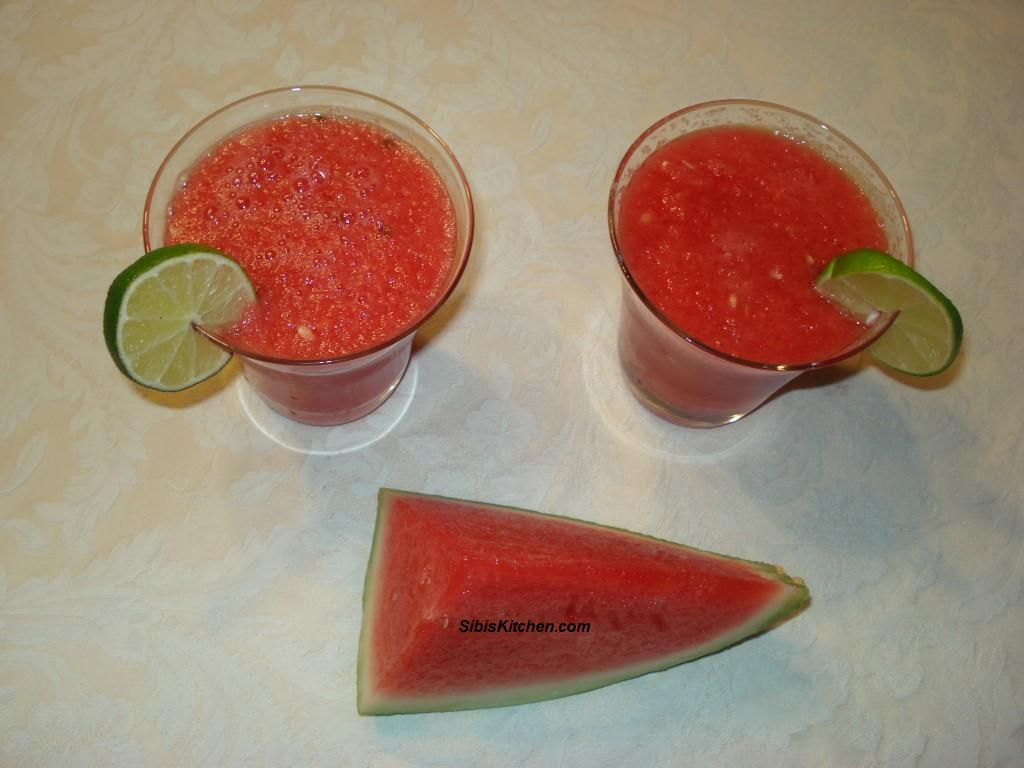 Chilled Watermelon Juice