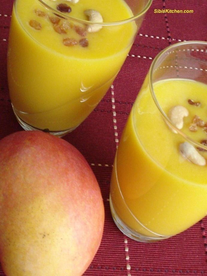 Ripe Mango Shake