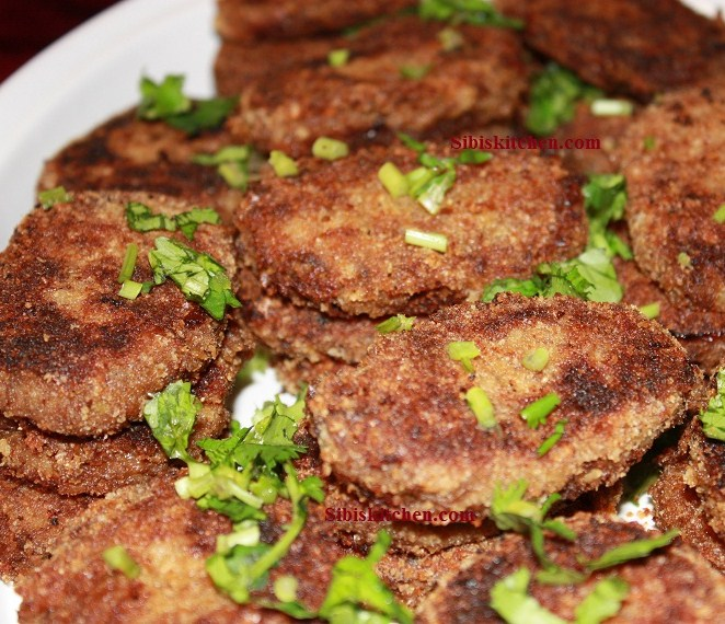 Kerala Chicken Cutlets