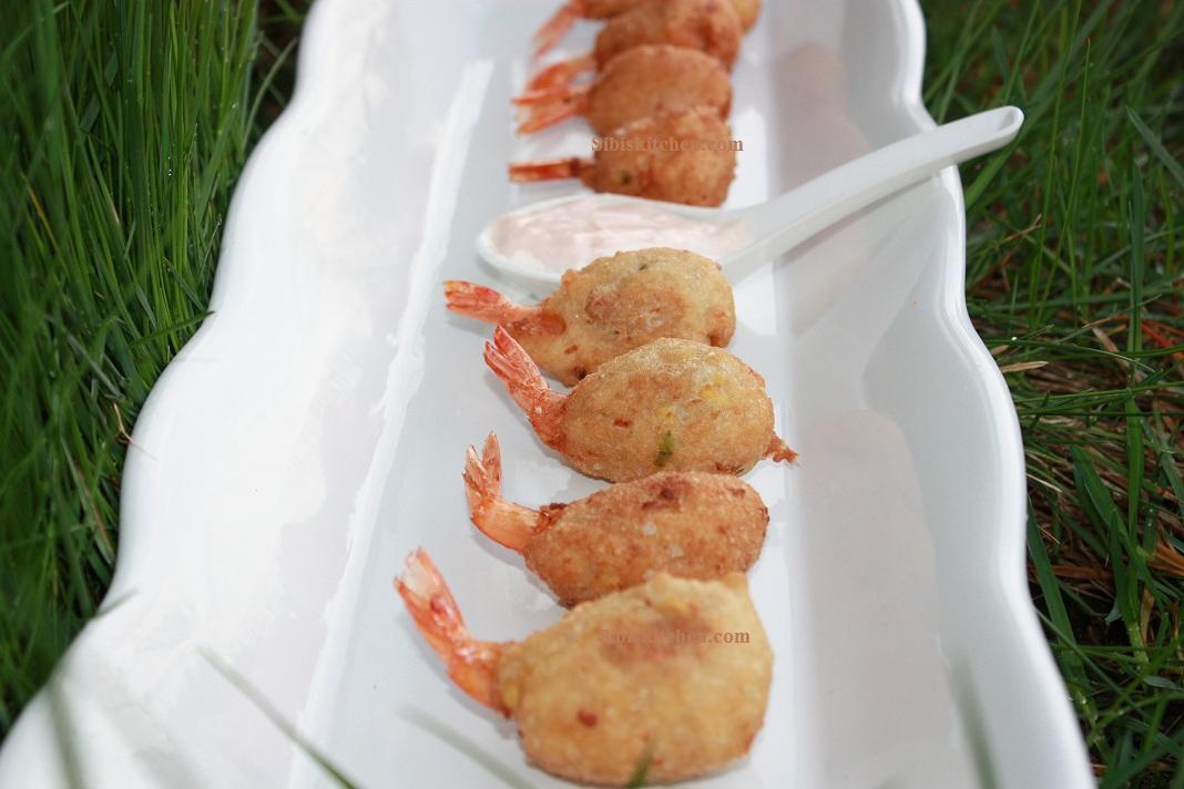Shrimp Tempuras/Prawn Pakoras