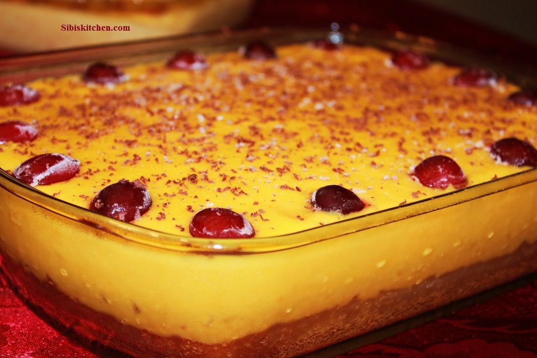 Mango- Pineapple Supreme Cake