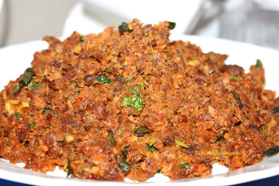Beef Carrot Filling