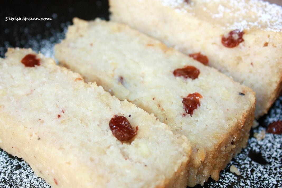 Cassava Pone/ Tapioca sweet bread