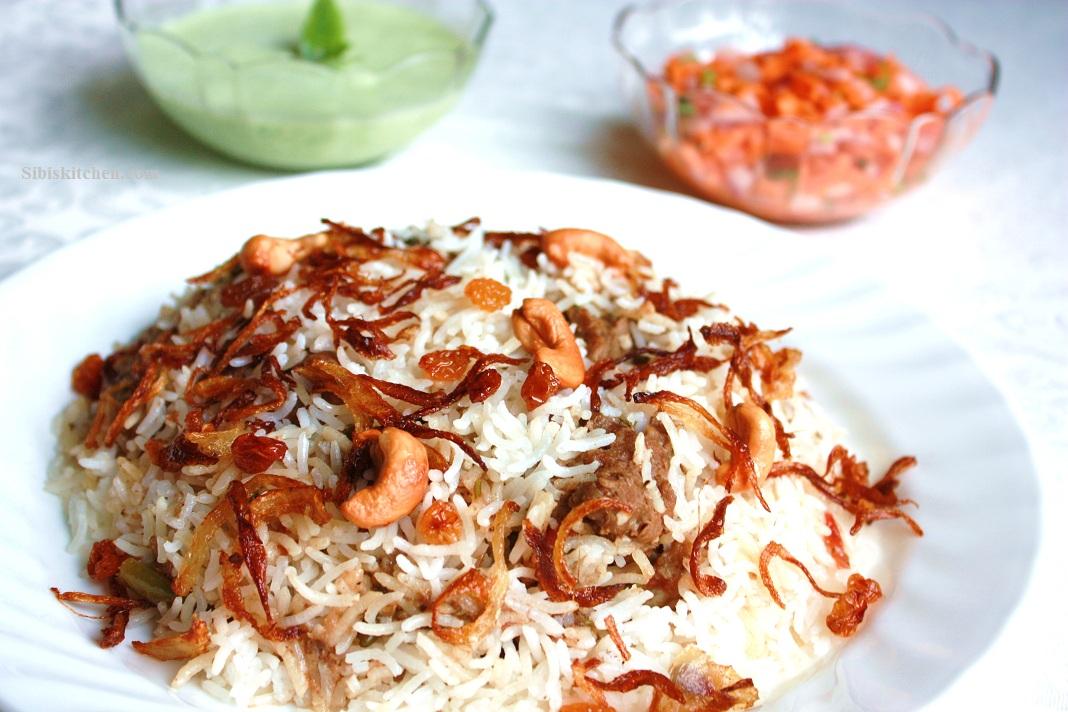 Malabar Mutton Biriyani -Thalassery Style